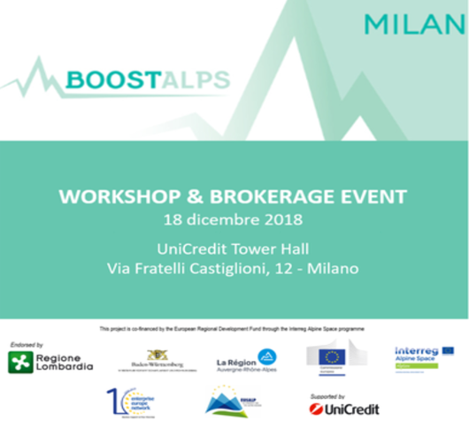 BOOSTAlps - Workshop & Brokerage event