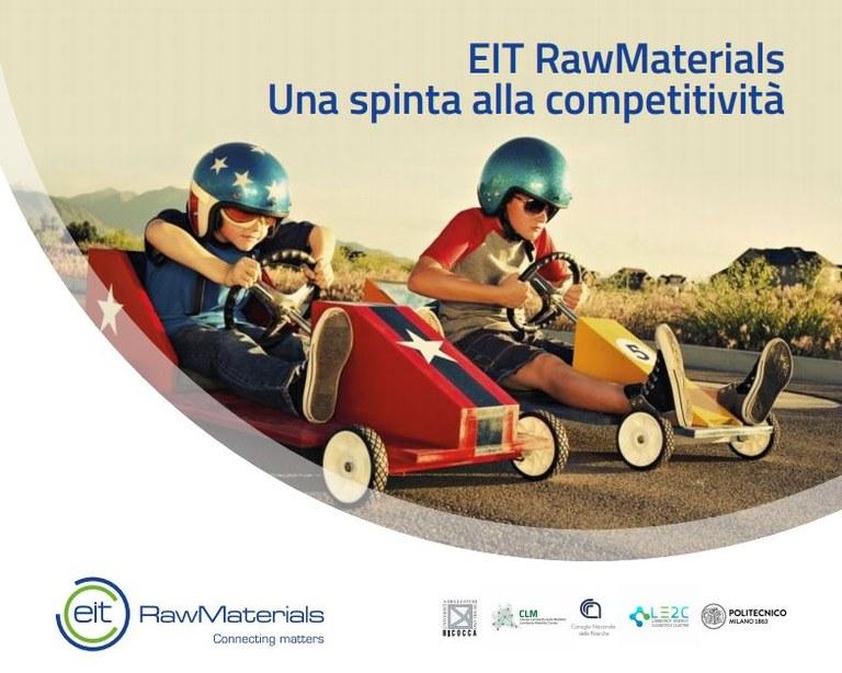EIT RawMaterials - Una spinta alla competitività