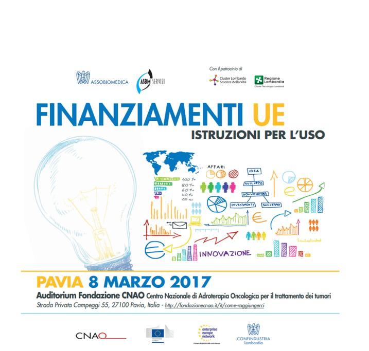 Finanziamenti UE - istruzioni per l'uso