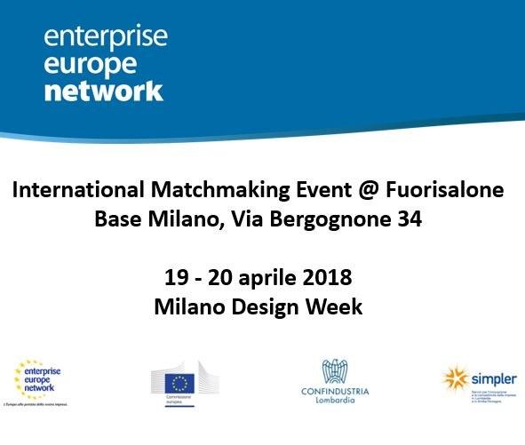 International Matchmaking Event @ Fuorisalone