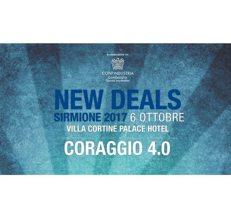 New Deals 2017 - Coraggio 4.0