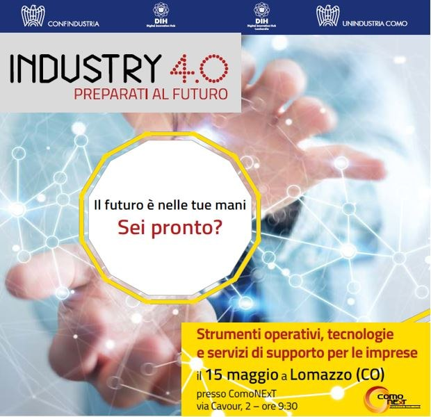Seminario Industry 4.0 Lombardia
