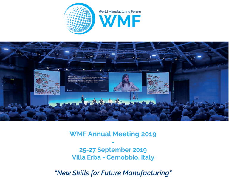 World Manufacturing Forum - Annual meeting 2019