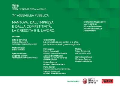 74a Assemblea generale di Confindustria Mantova