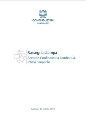 Accordo Confindustria Lombardia - Intesa Sanpaolo