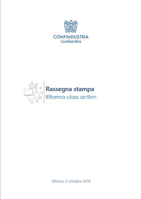 Riforma Class action