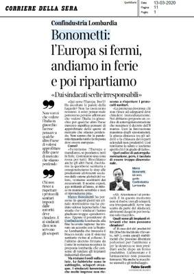 Coronavirus, L' Europa dov'è?