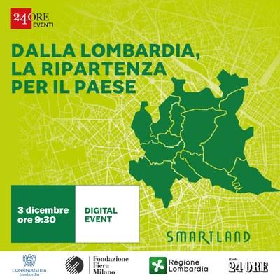 Dalla Lombardia la ripartenza per il Paese