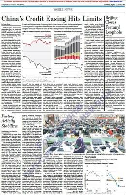 Gli indici sulla produzione industriale suggeriscono una prospettiva di crescita globale irregolare