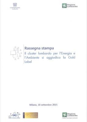 Gold label per il cluster lombardo per Energia e Ambiente