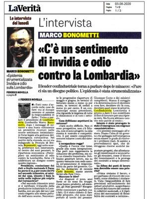 'Il Governo galleggia sull'emergenza e strumentalizza l'epidemia contro la Lombardia'