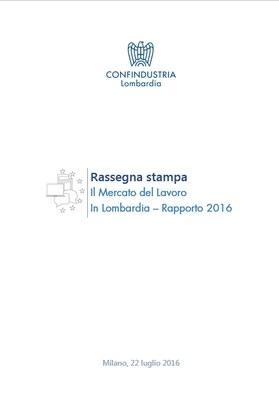 Il Mercato del Lavoro in Lombardia