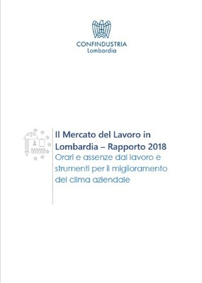 Indagine lavoro Lombardia - Rapporto 2018