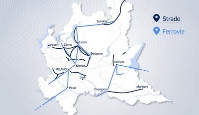 Le opere infrastrutturali prioritarie per la regione Lombardia