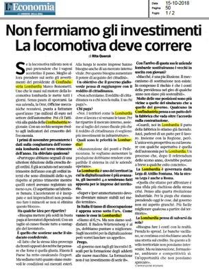 L'Economia - Speciale Lombardia