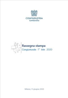Lombardia -10% produzione nel 1° trimestre 2020