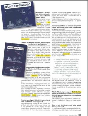 #Lombardia2030, il Piano strategico di Confindustria Lombardia
