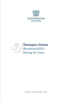 #Lombardia2030 - Sharing the Future