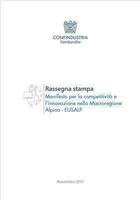 Manifesto per la competitività e l'innovazione nella Macroregione Alpina
