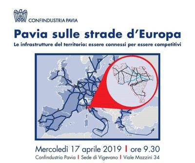 Pavia sulle strade d'Europa