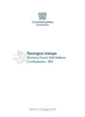 Business Forum italo-tedesco