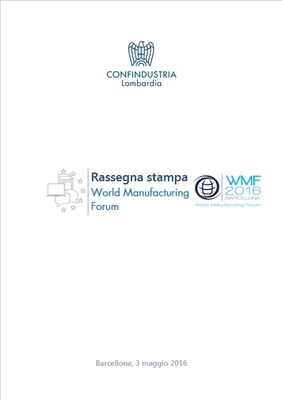 World Manufacturing Forum 2016