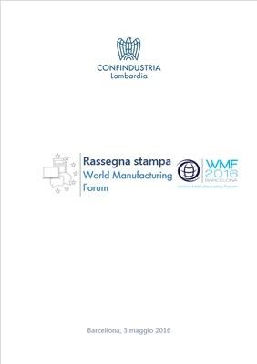 World Manufacturing Forum 2016