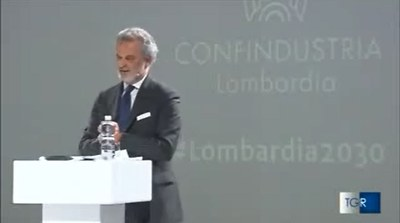Confindustria Lombardia presenta #Lombardia2030 - TGR