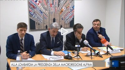 EUSALP, presentazione Presidenza italiana 2019 - TGR Lombardia