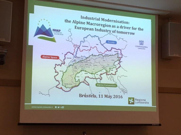 EUSALP, workshop a Bruxelles - servizio TGR RegionEuropa