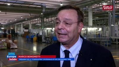 Gli effetti del Jobs Act: il presidente Marco Bonometti intervistato da Public Senat