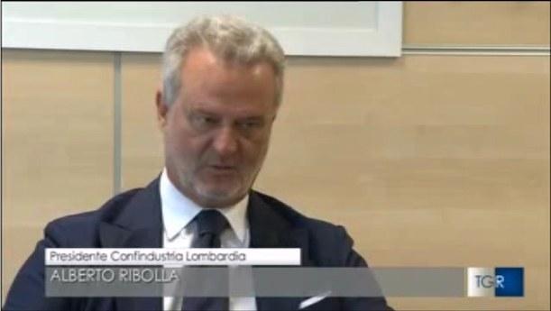 La Lombardia cresce più della Germania - intervista Rai