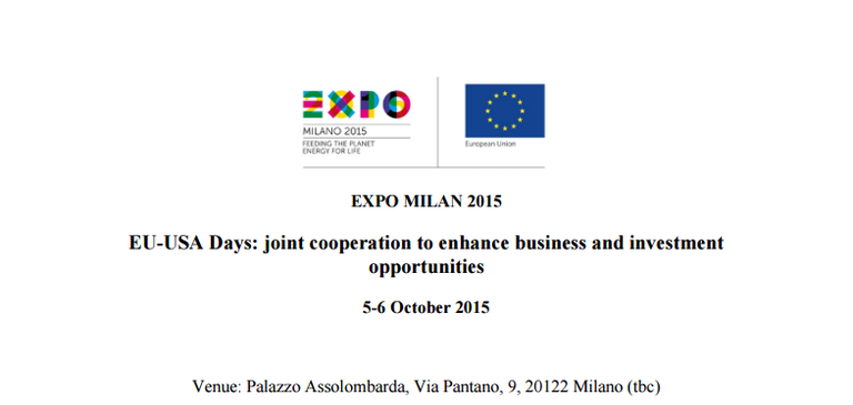EU-USA Days - Eco-efficient Management of Resources in Agro-Food Sector