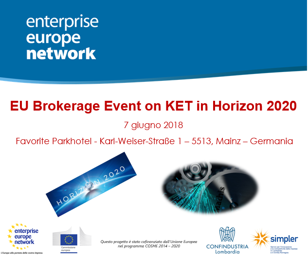 EU Brokerage Event on KETs in Horizon 2020